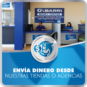 Barri Financial Group | Envios de dinero, Cambio de Cheques